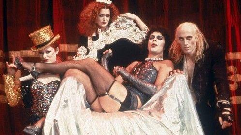 The Rocky Horror Picture Show (1975)  Dir: Jim Sharman Stars: Tim Curry, Susan Sarandon, Barry Bostwick, Richard Oâ