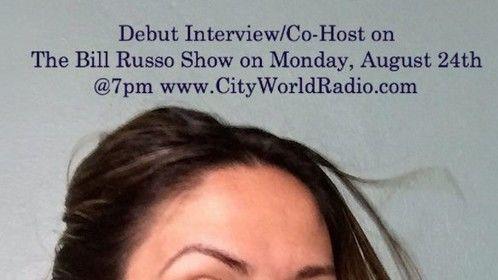 Radio Co-Host on The Bill Russo Show (NYC) www.cityworldradio.com