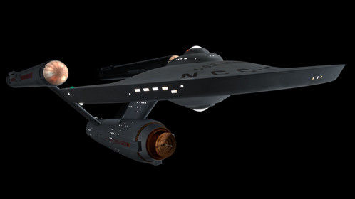 TOS USS Lexington Constitution Class. Please do not steal my art.