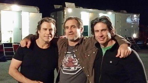 John Tavolta and Johns stunt double Nick Loren and Pat Walsh
