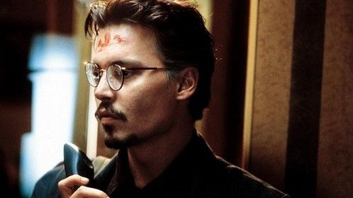 The Ninth Gate (1999)  Dir: Roman Polanski Stars: Johnny Depp, Frank Langella, Lena Olin, Emmanuelle Seigner  A rare book dealer, while seeking out the last two copies of a demon text, gets drawn into a conspiracy with supernatural overtones.  Click Here: http://www.watchfree.to/watch-84f-The-Ninth-Gate-movie-online-free-putlocker.html