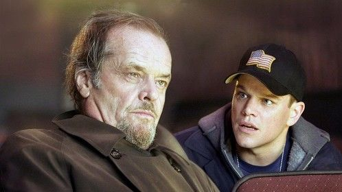 The Departed (2006)  Dir: Martin Scorsese Stars: Leonardo DiCaprio, Matt Damon, Jack Nicholson, Mark Wahlberg  An undercover cop and a mole in the police attempt to identify each other while infiltrating an Irish gang in South Boston.  Watch the film here: http://www.watchfree.to/watch-191-The-Departed-movie-online-free-putlocker.html