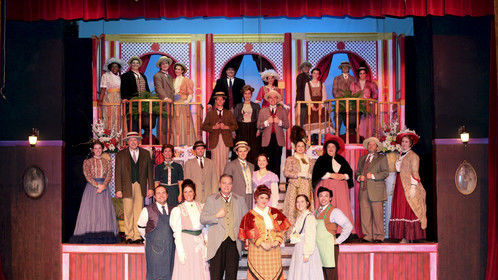 Cast photo of Hello Dolly at Bay Street (2015.)
