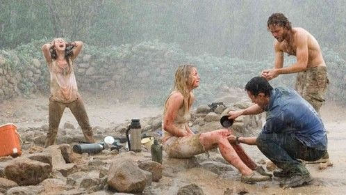 The Ruins (2008)  Dir: Carter Smith Stars: Shawn Ashmore, Jena Malone, Jonathan Tucker, Laura Ramsey  A group of friends whose leisurely Mexican holiday takes a turn for the worse when they, along with a fellow tourist embark on a remote archaeological dig in the jungle, where something evil lives among the ruins.  Watch here: http://www.watchfree.to/watch-2ac-The-Ruins-movie-online-free-putlocker.html