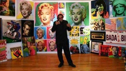 Famous American Pop Artist Steve Kaufman 12/29/60 - 02/12/10