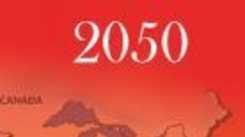Cover from my novel 2050 which now has a great screenplay looking for a producer.