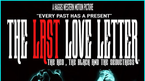 """One of the official film posters for """"The Last Love Letter"""""""