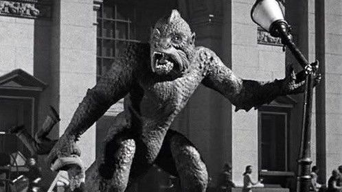 """I had two reviewers ask, """"How big is the monster"""".  I'd say, """"He's about as big as the Ymir when he fights the elephant."""""""