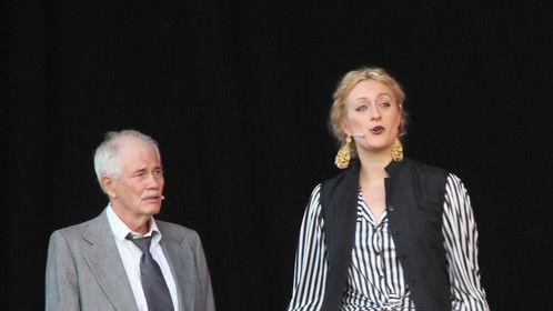 "Judge Solina (Duke Solinus) in Bergen Shakespeare's ""The Comedy of Errors."" 2015"