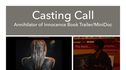 Darkness To Light Films will be holding a casting call on November 7, 2015.