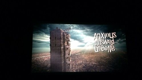 Anxious Oswald Greene plays in Stage 32's Raindance Short Film Program 4/4   @OswaldGreene