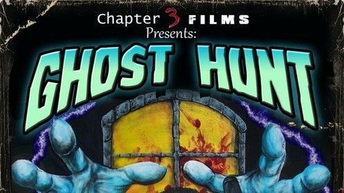"Poster for our latest short ""Ghost Hunt""."