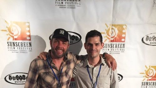 Bro down at the Sunscreen Film Festival West with D-Money