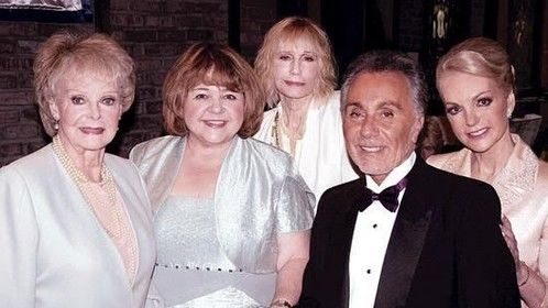 With some of my wonderful and talented co-stars from the #indie #feature The Remake, June Lockhart, Patrika Darbo, Sally Kellerman and Ruben Roberto Gomez.
