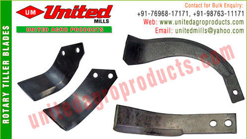 Rotary Tiller Blades manufacturers exporters in india