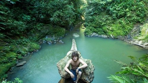 Deep in the Amazon rainforest