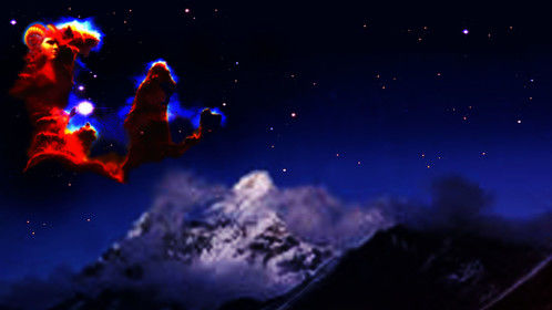 The Chosen Ones. A Cosmic Revelation at the Himalayas.