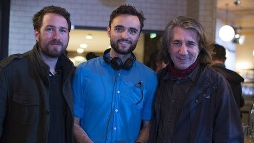 From left to right: Jack MCWILLIAMS (Attic Light Films, L.A.), Remi ANFOSSO (Director) and Francois LACHAUD (Bambule Films, Marseille)