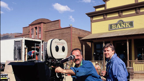 Filming at Old Tuscon in AZ.  Part of a million dollar corporate campaign for Du Pont back in the day (1992).  Joe Meccariello (DP).