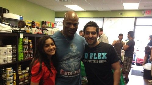 Me, Ronnie Coleman and my Uncle