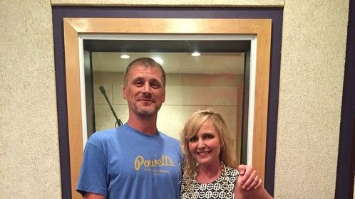 With Lisa Wilcox (A Nightmare on Elm St. 4 & 5) in Valencia.