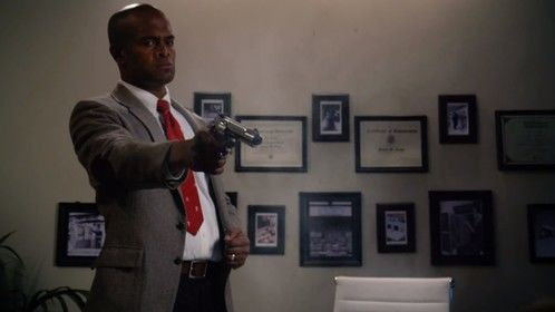 """Agent Barney Griggs in """"Sync"""""""