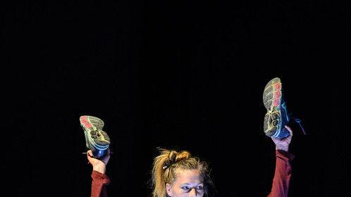 guest on stage for Daniel Cramer/Theatertreffen Berlin 2015