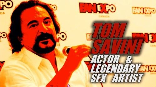 Tom Savini - Interview Heroes Manufactured