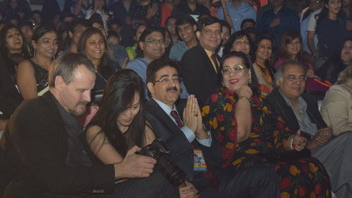 in Delhi Noida international film festival actress Mungunzul  2015