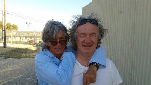 """On set with Eric Roberts, """"The Human Centipede 3"""""""