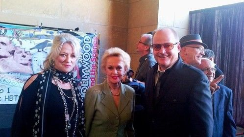 Hollywood Egyptian Theater Event with legendary actress Tippi Hedren