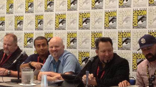 2014 San Diego Comic Con - Comic Creator Connection All-Stars Panel