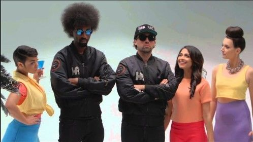 """Hair, Makeup, and Male Grooming for The Knocks featuring POWERS music video- """"Classic"""""""