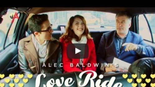 Love Ride pilot- hair and makeup by me for Alec Balwin