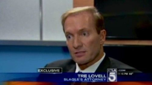 Interviewed on KTLA for representing plaintiff in high profile case Slagle v. A&E Entertainment.
