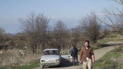 Filming Invasion of The Not Quite Dead in Bulgaria
