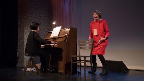 Life is Beautiful, The life story of the Jewish pianist Alice Herz-Sommer - A theatrical production by the Frisian Pier 21 productionhouse.