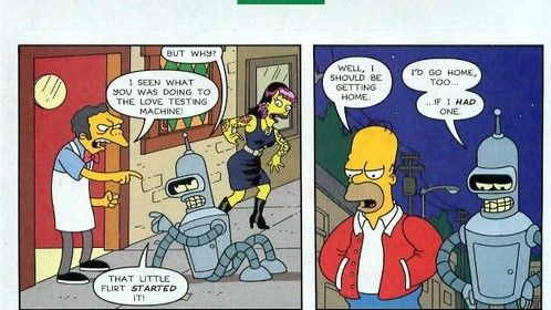 I was a Simpson character :)
