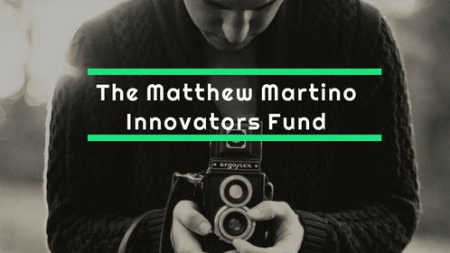 All new MM Innovators Fund from @TheMMBF Coming February x http://www.mmbf.co.uk/innovators-fund #creative