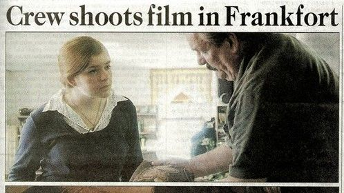 Crew Shoots 48 Hour Film Project in Frankfort 10 August 2013 Page A1 from Front Page Lead In