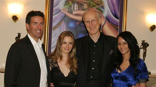 "Prop 2 Humane Society Fundraiser, ""Hollywood Comes to La Jolla."" (From Left to Right) Humane Society of the United States CEO Wayne Pacelle, Actress Alicia Silverstone, Actor James Cromwell, and Actress Persia White"