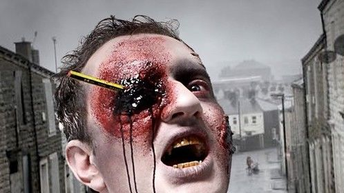 Zombie Special FX make-up, - had a lot of fun creating this!