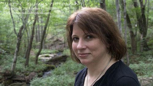 Poet Julie Funderburk