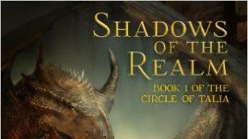 Shadows of the Realm - YA epic fantasy novel. Ebook cover.