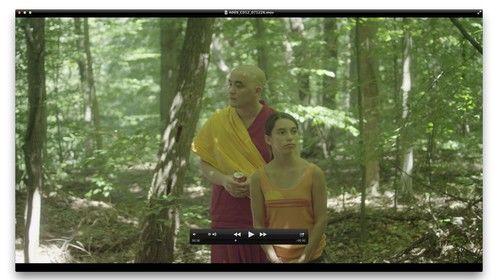 Nawang (Adam Tran) and Camilee (Liz Chiarella) in MUD LOTUS