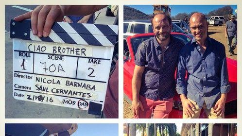 "Italian comedy "" Ciao Brother, director Nicola Barnaba"