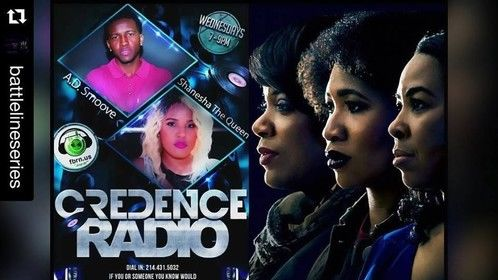 Battle Line will be visiting Credence Radio to talk about our project!