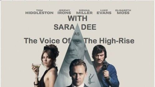 HIGH-RISE Poster with my credit on the film added