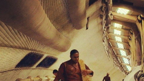 "Myself on opening scene of the film ""After Earth""."