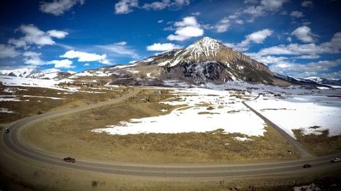 Mt. Crested Butte looking majestic as usual!